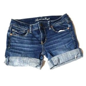 American Eagle Super Stretch Cutoff Jean Shorts 8